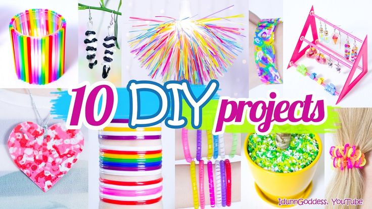 10 DIY Projects With Drinking Straws – 10 New Amazing Drinking Straw Cra...