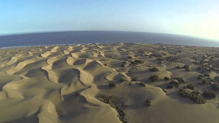 Las dunas de Maspalomas en Gran Canaria con tu coche de alquiler http://alquilercochesgrancanaria.soloibiza.com/las-dunas-maspalomas-gran-canaria-coche-alquiler/ #alquilercochesgrancanaria