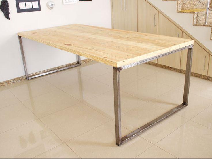 A nova mesa com pegada industrial