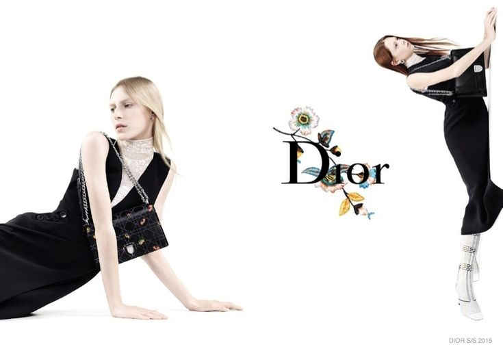 Dior | SS 2015 Ad Campaign | Julia Nobis, Lexi Boling and Natalie Westling