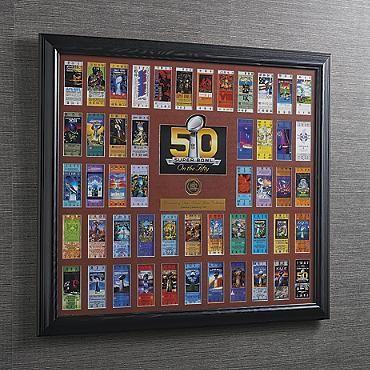 Super Bowl 50 Commemorative Ticket Collection