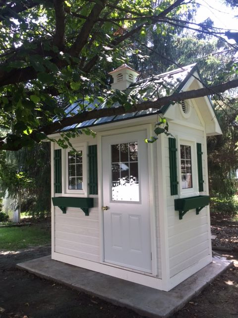 A Smaller Version Of Our Traditional Prefab Shed Style.