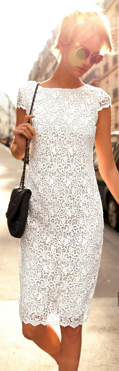 cute summer dress with the small cap sleeve!