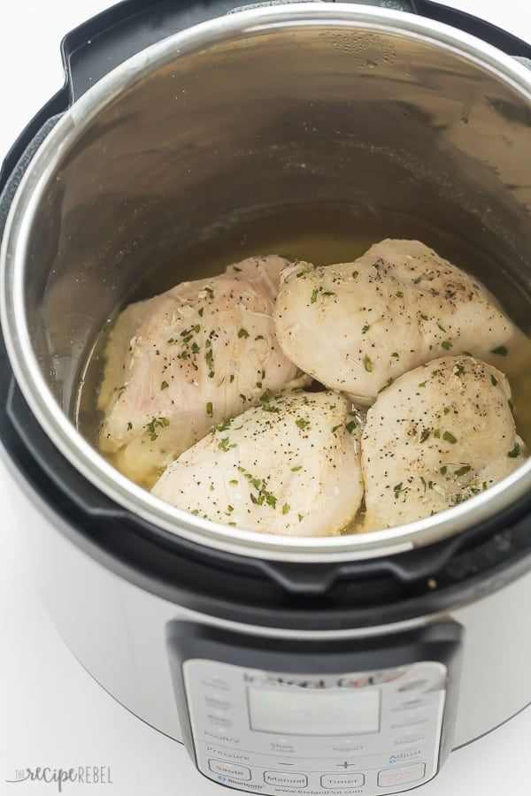 How Long To Cook Frozen Chicken Breast In Instant Pot How To Cook Frozen Chicken Breasts In The Instant Pot Recipe Pressure Cooker Recipes Instant Pot Dinner Recipes Food Recipes