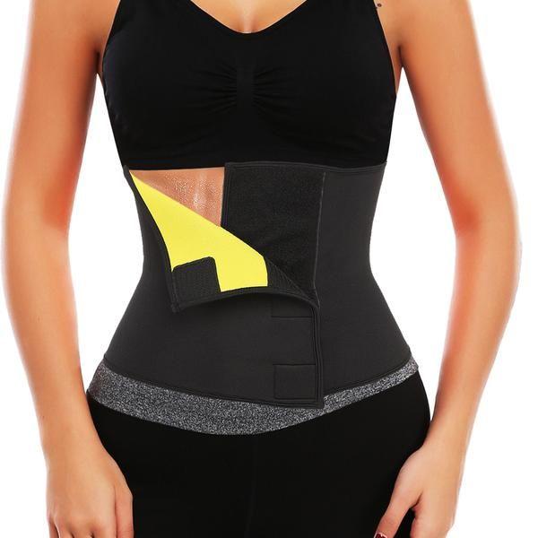 06d5b20113 Hot Shapers Sauna Sweat Waist Trainer Belt Neoprene Slimming Thermo Push Up Body  Shaper Waist Cincher