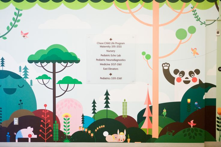 Mattel Children's Hospital features fun wall for our ...