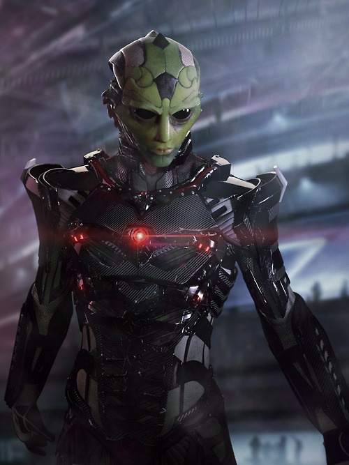 The (Fake) Mass Effect Characters Of The Future Are An Amazing Sight