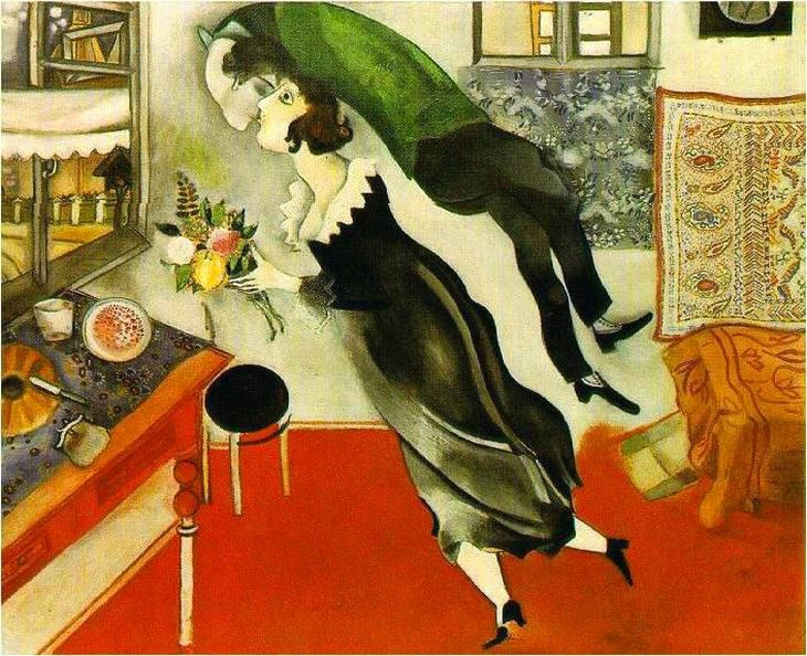 Marc Chagall, (1887-1985) - The Birthday