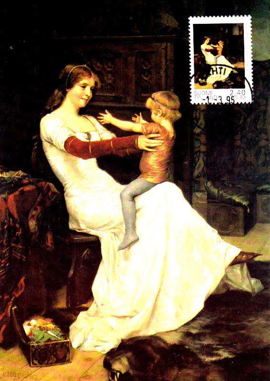 Kuva albumissa ALBERT EDELFELT - Google Kuvat. AE-01  Kuningatar Blanka, 1877.  Ateneumin taidemuseo, Livingstone.