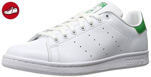adidas Originals Stan Smith M20324, Unisex-Erwachsene Low-Top Sneaker, Weiß (Running White/Running White/Fairway), EU 36 (*Partner-Link)