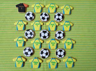 Horno obsesión: Galletas de futbol