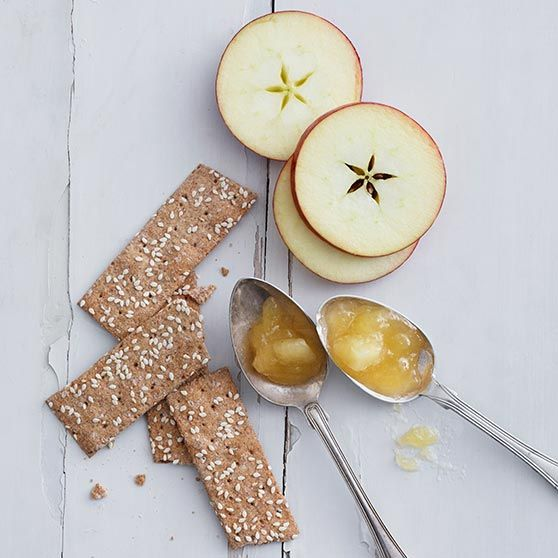Caramel-flavoured apple jam - Recipes