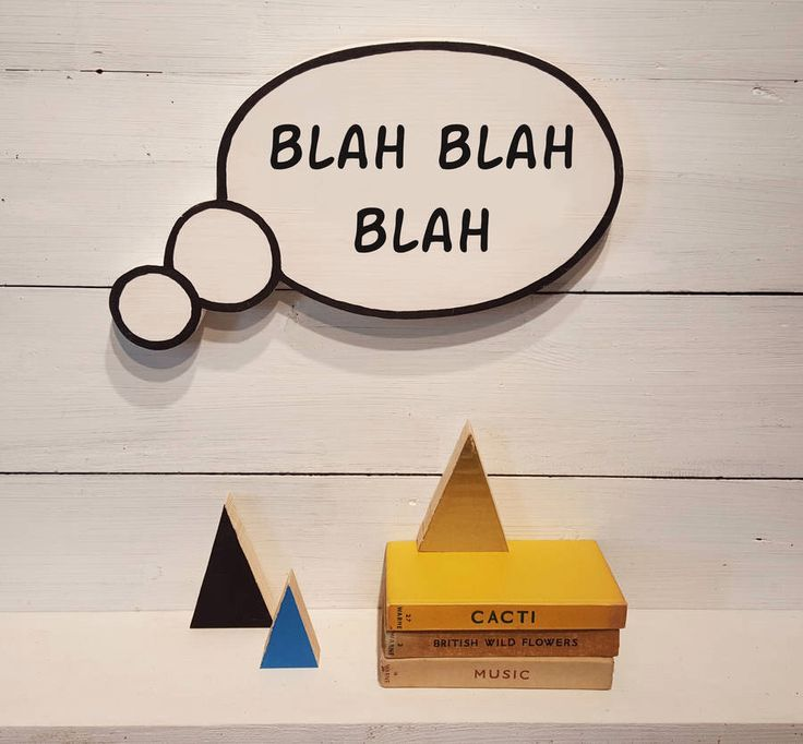 I've just found Thought Bubble Wall Sign. A handmade wooden thought bubble to show your inner most mumblings....!. £20.00