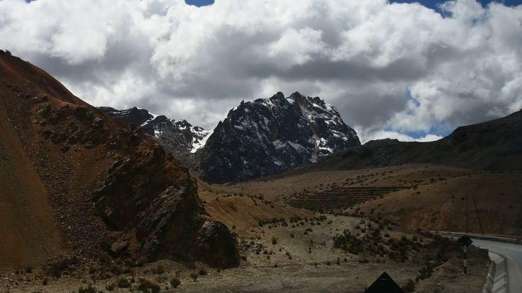 Wonderful view Road to Huyancayo Peru