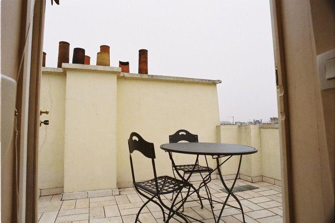 terrace at eveParis apartment