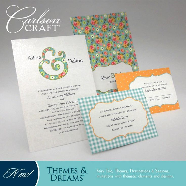 This Charming Wedding Ensemble From The Themes U0026 Dreams Album From Carlson  Craft Features Gingham Print