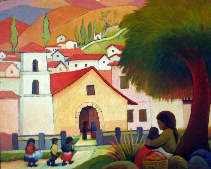 Arte y pintura abstractos desnudos caballos paisajes for Pintura casa moderna