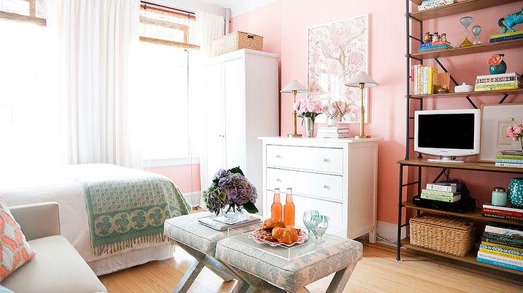 love this mint + pink color scheme