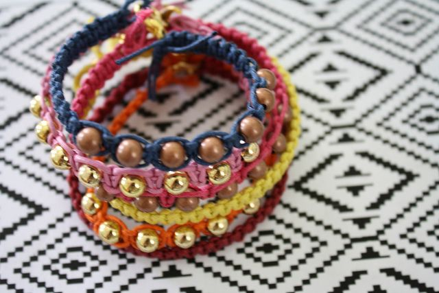 The Alison Show: DIY Hemp Bracelet Tutorial