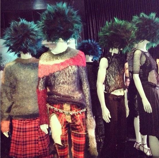 PUNK: Chaos to Couture preview #punkfashion #fashion #metmuseum