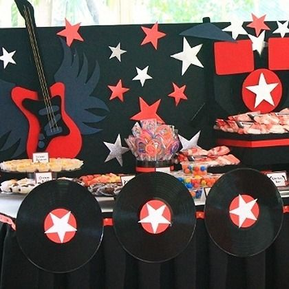1000 ideas about rock star theme on pinterest rock star - Rock and roll theme party decorations ...