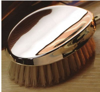 Silver Military Hair Brush. There is no substitute for these British sterling silver military hair brushes as the ultimate luxury in gentlemen's grooming.