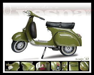 The Vespa Kongo...story coming soon on my blog!