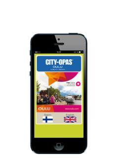 CITY-OPAS® kartta toimii myös älypuhelimessa, lataa mobiilisovellus