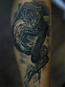 Татуировка пантера - значение, фото - Тату студия Барака