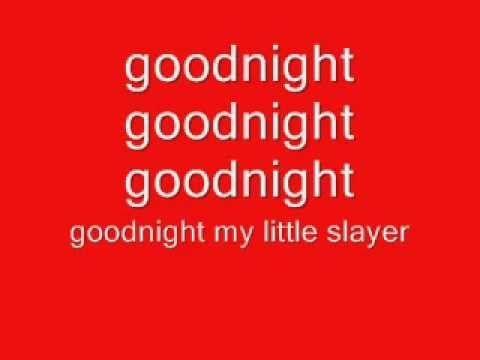 "Voltaire ""Goodnight Demon Slayer"" lyrics - YouTube"