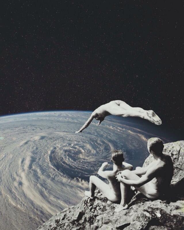 """into the eye"" by Tash Riot art"