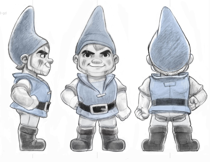 59 best blueprints for modeling images on pinterest character illustrators sketch of gnomeo malvernweather Images