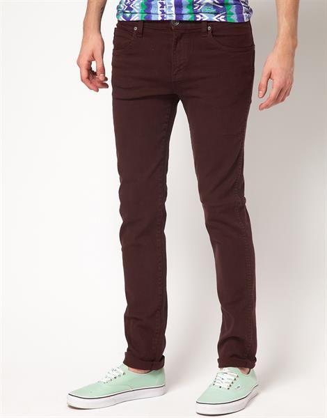 Мужские джинсы обтягивающие