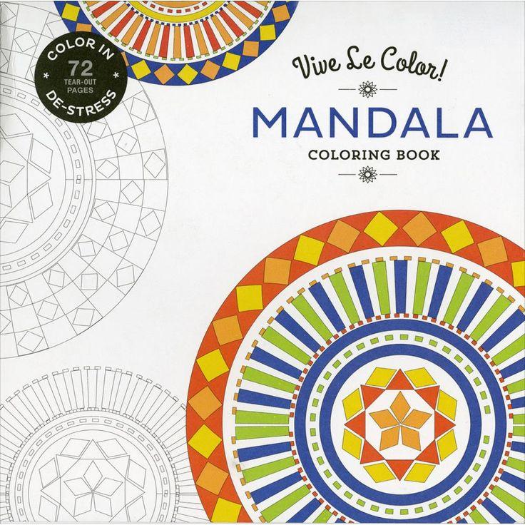 Abrams Books - Vive Le Color - Coloring Book - Mandala