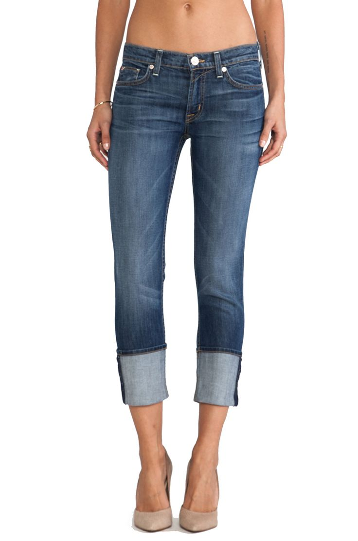 Hudson Jeans Muse Crop - Nordstroms *My sister sports these and I can't wait to loose more weight and get my tush in these*