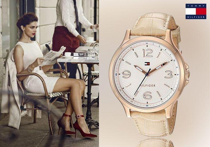 Αίσθηση πολυτέλειας με το νέο γυναικείο ρολόι του Tommy Hilfiger! Μόνο 109,00€
