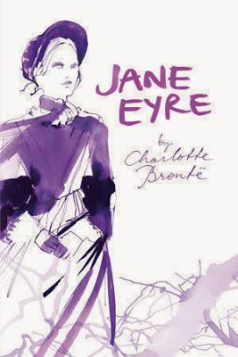 """""""Jane Eyre"""" by Charlotte Bronte - New cover from the """"Classic Lines"""" group by Splinter Publishers"""