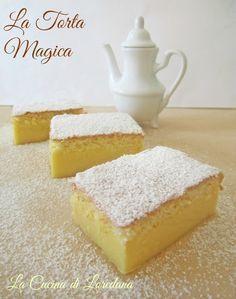 Torta Magica   La Cucina di LoredanaLa Cucina di Loredana