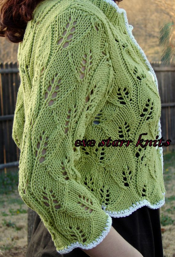 Cap Knitting Patterns : Twining Gothic Leaves COTTON BLEND Hand Knit by EveStarrFiberArts, USD89.00 K...