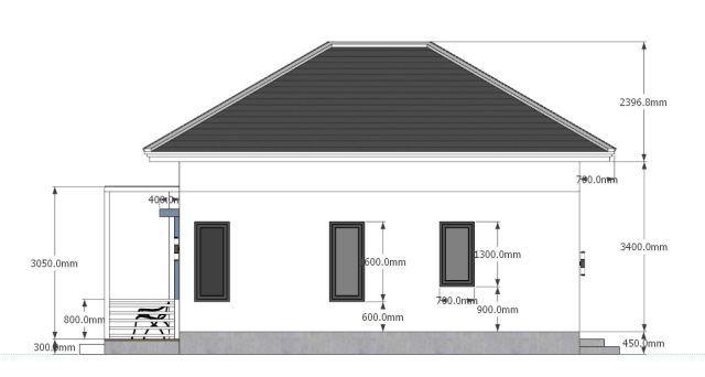 Studio House Plans 6x8 Hip Roof Tiny House Plans Tiny House Plans House Plans Small House Design Plans