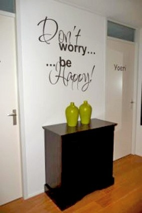 Don't worry be happy!