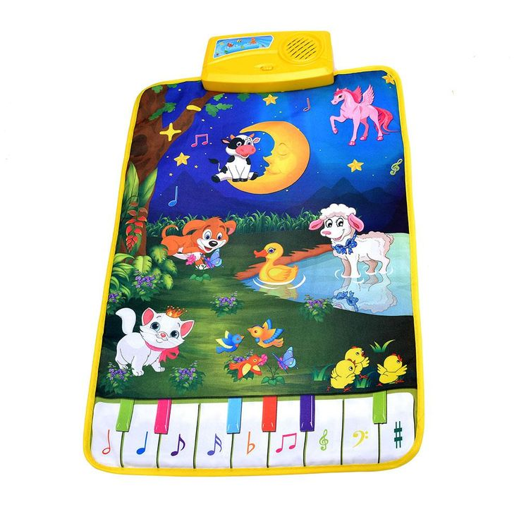 Baby Piano Mats Music Carpets Newborn Kid Children Touch Play Game Musical Carpet Mat Toys