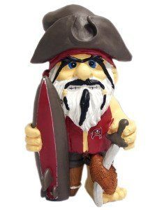 NFL Tampa Bay Buccaneers Thematic Gnome - 2nd Version by Forever Collectibles. $21.99. Collectible. Officially Licensed. Hand-Crafted. Tampa Bay Buccaneers. 100% POLYRESIN. Forever Collectibles offers a full line of 100% officially licensed team merchandise. We offer a complete line of home décor, garden décor, novelty, apparel, tech accessories and seasonal items.. Save 12% Off!