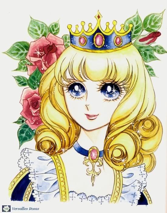 Versailles no bara- Marie Antoinette - Lady Oscar