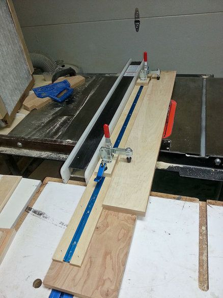 Table saw ripping jig. 224 best tablesaw  jigs and techniques images on Pinterest