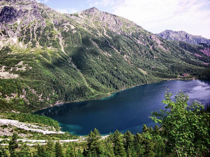 nad Morskim Okiem #krajobrazy #górskie #Poland #Polska #zdjęcia #HDR #photography #landscapes #góry #Mountains #Tatry #Tatra #Mountains #Morskie #Oko