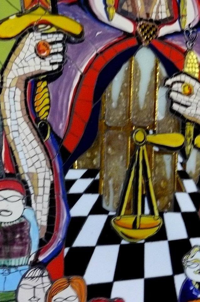La Diosa de la Justicia Detalle www.pascalarte.cl