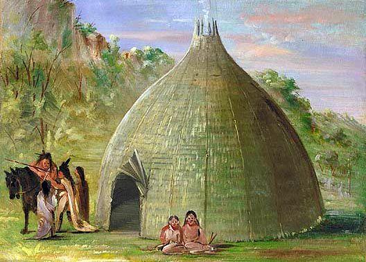 Tepees – Plains Tribes Wigwams aka Birchbark houses – Northeast ...