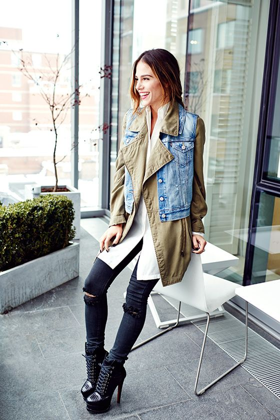Fashion 365 days of looks ~ Maripier Morin | @louloumagazine