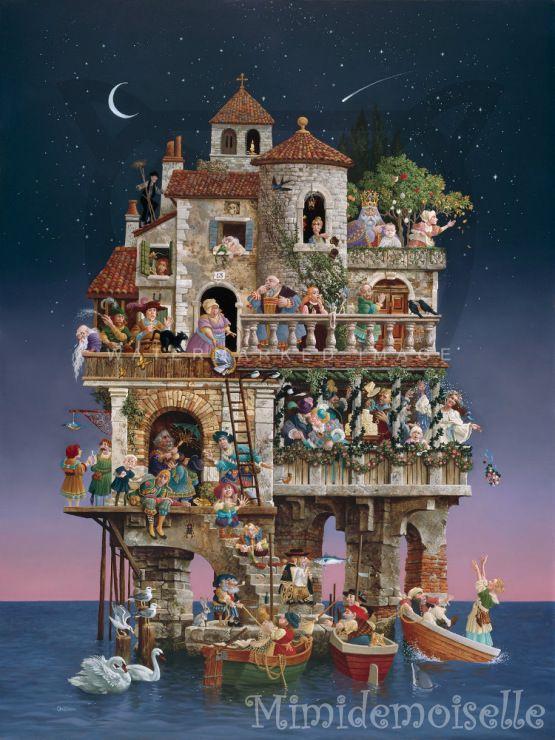 Gallery.ru / Michael Powell. Пляжные домики - Мечты-мечты-мечты - mimidemoiselle